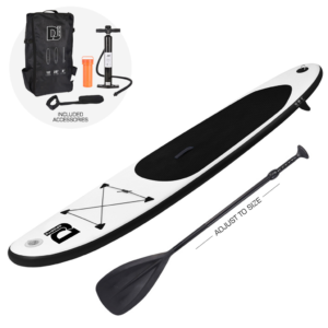 Stand Up Inflatable Paddle Board black
